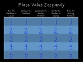 Place Value Jeopardy--Numbers to 40