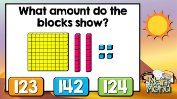 Place Value Jeopardy Style Game Show