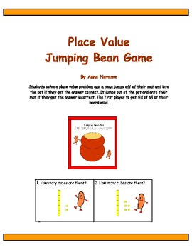 Place Value Jumping Bean Game
