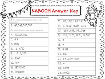 Place Value KABOOM!