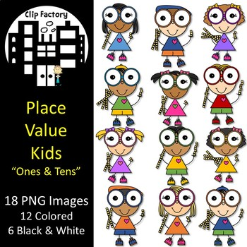Place Value Kids using Ones and Tens