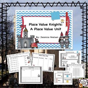 Place Value Knights: A Place Value Unit