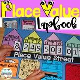 Place Value Lapbook: Interactive Kit   Place Value Chart