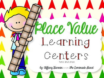 Place Value Learning Centers {Tens and Ones}