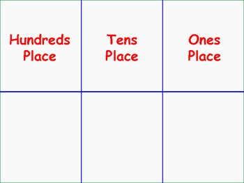 Place Value Learning Station