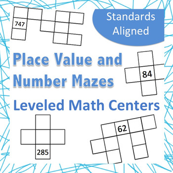 Place Value Leveled Centers, Plus and Minus Ten and One an