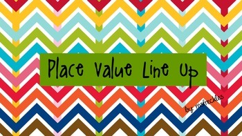 Place Value Line Up (3 Digit)