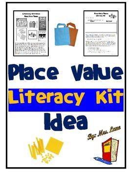 Place Value Literacy Kit Idea