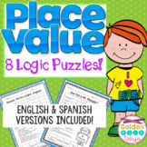 Place Value Logic Puzzles for Enrichment Gifted Talented Critical Thinking!