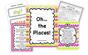 Place Value - MCC4.NBT.1 - Common Core Math Standard - 4th Grade