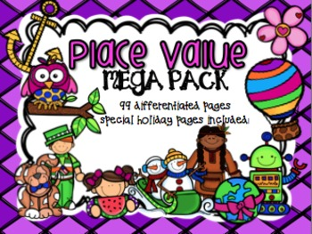 Place Value MEGA Pack (Holidays Included)