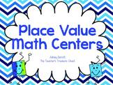 Place Value Math Centers