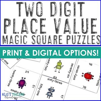 Place Value Math Center Games