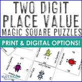 2 Digit Place Value Games, Hands On Worksheet Alternatives, or Activities
