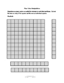 Place Value Manipulatives 100's, 10's, 1's