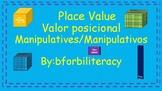 Place Value Manipulatives-Bilingual
