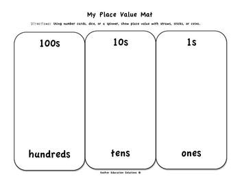 Place Value Mat