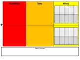 Place Value Mat for Addition and Subtraction(Up to 100)