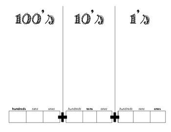 Place Value Mat + Expanded Form/Standard Form