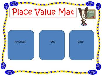 Place Value Mat Game For Centers By Kristin Dammacco Tpt