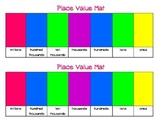 Place Value Mat (ones - millions)