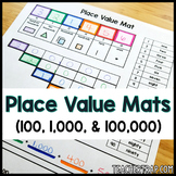 Place Value Mats for Decomposing Numbers