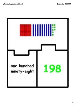 Place Value Match Puzzle