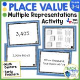 Place Value Match Up ~ TEKs 3.2A & 3.2B