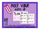 Place Value Match Up Cards