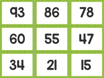 Place Value Match-Up Freebie