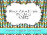 Place Value Matching 4.NBT.2