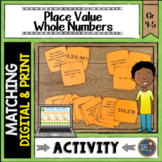 Place Value Whole Numbers Match