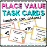 Place Value Matching Cards: Base-Ten Blocks and Standard Form Numbers (2 of 2)