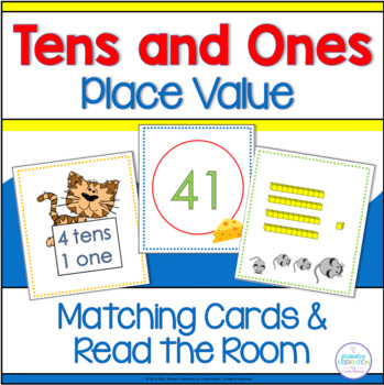 Place Value Matching Cards: Tens and Ones