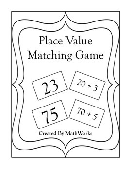 Place Value Matching Game