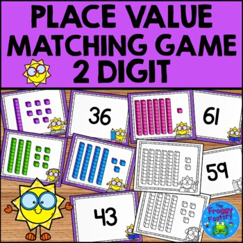 Place Value 2 Digit Matching Game