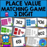 Place Value 3 Digit Matching Game