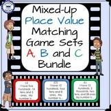 Place Value Matching Game Set Bundle