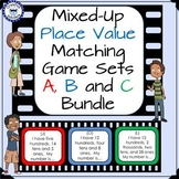 Place Value Matching Game Set Bundle