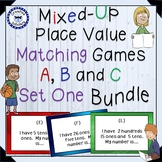 Place Value Matching Game Set Primary Bundle