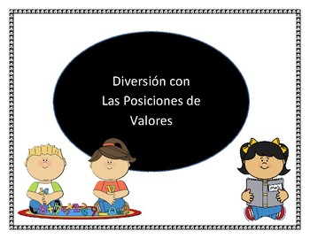 Place Value Matching Game in Spanish