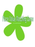 Place Value Matching Game to the Millions