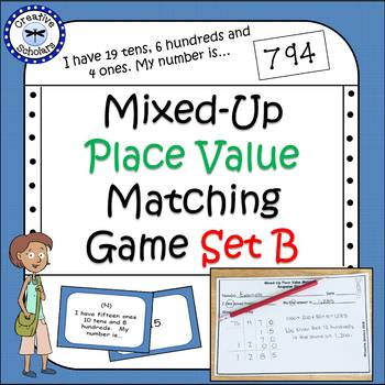 Place Value Matching Math Game