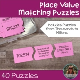 Place Value Matching Puzzles