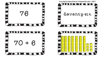 Place Value: Matching & Sorting (Tens and Ones)
