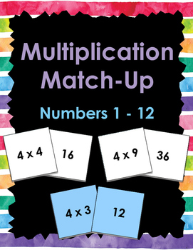 Multiplication Matchup