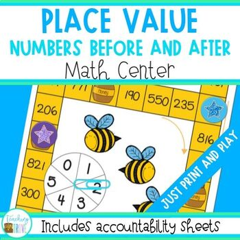 Counting - numbers before and after