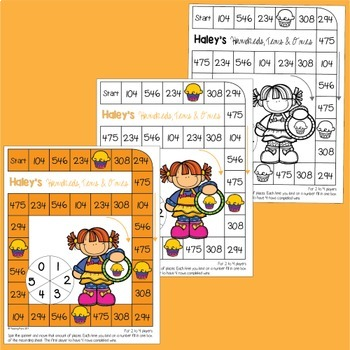 Place Value with Three Digit Numbers Math Center