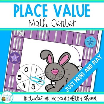 Place Value with  Regrouping Math Center