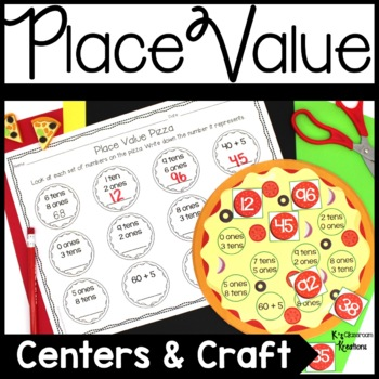 Pizza Place Value Math Center
